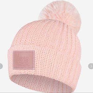 Blush monochrome love your melon Pom hat
